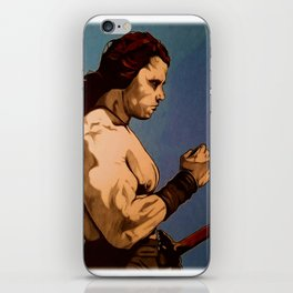 Conan The Barbarian iPhone Skin