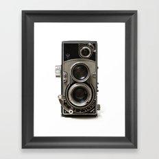 Vintage Camera 01 Framed Art Print