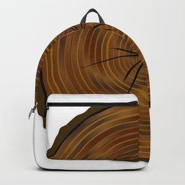 Dark Log End Backpack