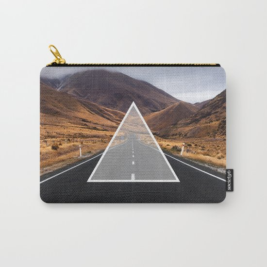 Route Triangle Carry-All Pouch
