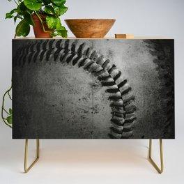 Black and white Baseball Credenza