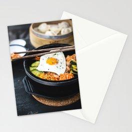 Korean Bibimbap Stationery Cards