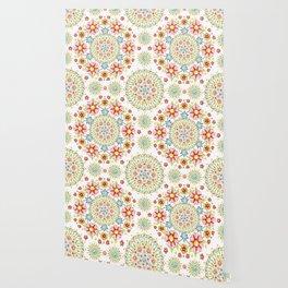 Flower Crown Carnival Wallpaper
