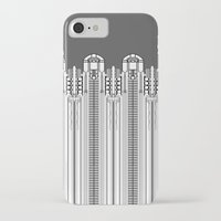 art deco iPhone & iPod Cases featuring Art deco by Textile Candy