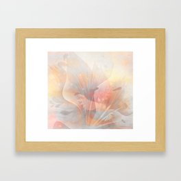 Floral Astract Framed Art Print
