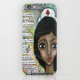 Nurse - African American  iPhone Case