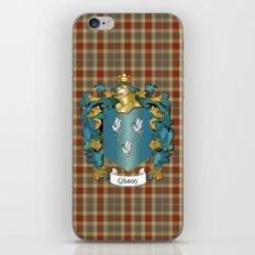 Gibson Coat of Arms and Tartan iPhone & iPod Skin