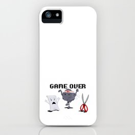 Karate-Paper-Scissors iPhone Case