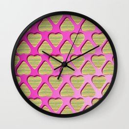 I Will Have Pieces of You Wall Clock