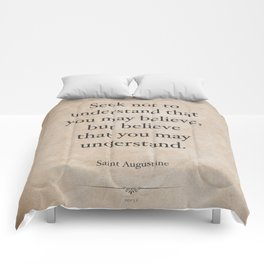 St. Augustine Comforters