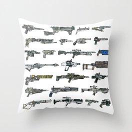 The Force Awakens firearms Throw Pillow