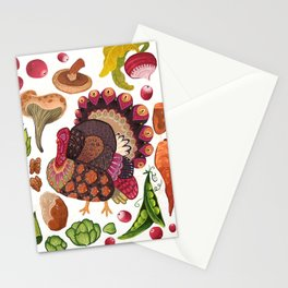 Thanksgiving Dinner Stationery Cards