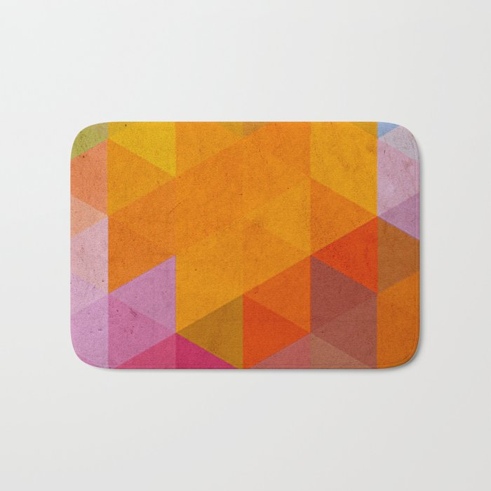try a different angle triangle Bath Mat