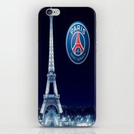 Paris Saint Germain PSG : Revons Plus Grand iPhone Skin