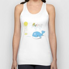 Whale of a time Unisex Tank Top