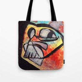 Rainbow Darth Vader Tote Bag