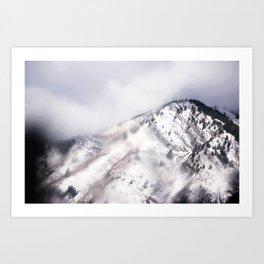 Psychedelic Mountain Dreams Art Print