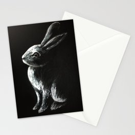 Bunny Painting Stationery Cards