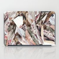 colorful iPad Cases featuring Arnsdorf SS11 Crystal Pattern by RoAndCo