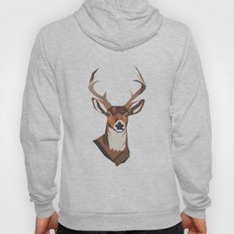 Deer- Blue Hoody