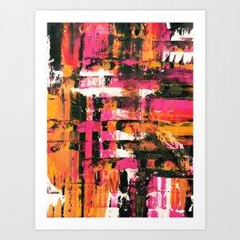 Abstract Series - Instinct Art Print