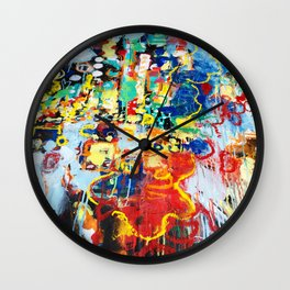 Street Lights  Wall Clock