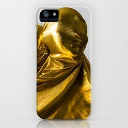 Golden People iPhone Case