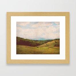 Pasture Framed Art Print