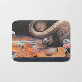 Taurus- The Zodiac Wildlife Series Bath Mat