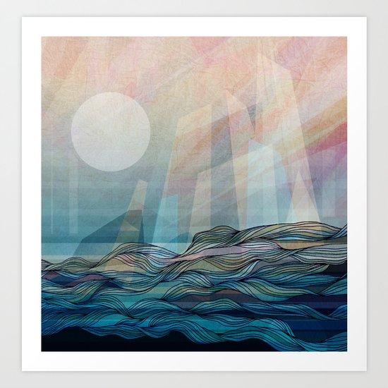 Arctic morning Art Print