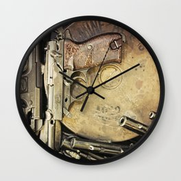 An art of Peacemaking Wall Clock