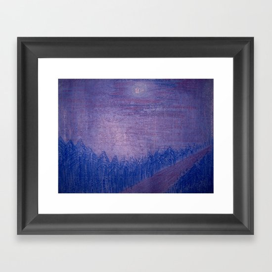Siberia Framed Art Print