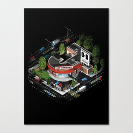 J_ob Canvas Print