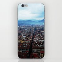 florence iPhone & iPod Skins featuring Florence by grrrenadine