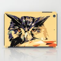 owl iPad Cases featuring Owl by Nuam