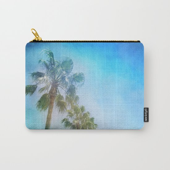 """""""Palms. Beach"""" Carry-All Pouch"""