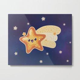 Shooting Starfish Metal Print