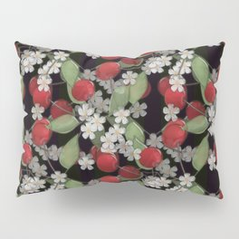 Cherry Charm, Imitation of glass Pillow Sham