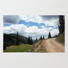 The Road of Life: Venture to Learn What's Around the Next Bend, and Prepare for Stormy Skies Rug