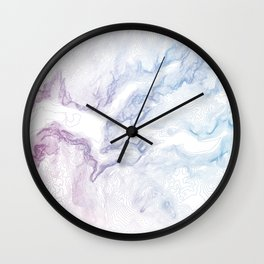 Yosemite National Park Half Dome Print Wall Clock