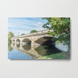 The Serpentine Bridge, London Metal Print