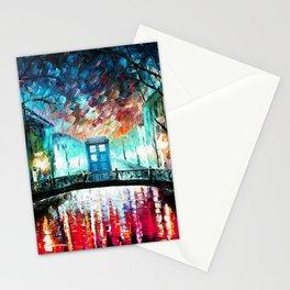 Tardis Art At The Old Bridge Stationery Cards