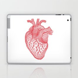abstract red heart Laptop & iPad Skin
