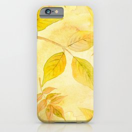 Autumn leaves #13 iPhone Case