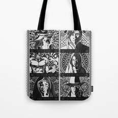 Final Fantasy Job Geek Art Poster Tote Bag