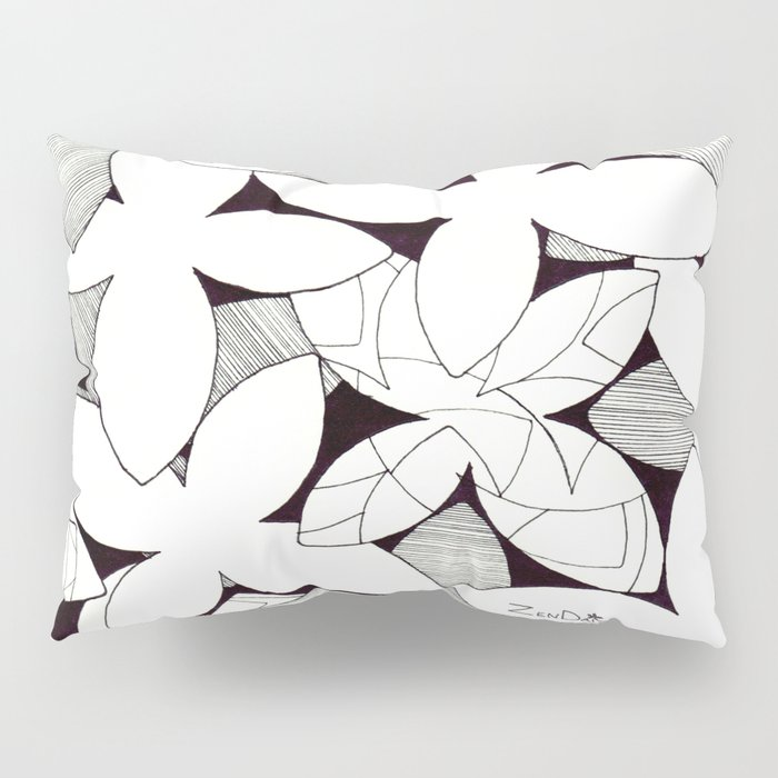 Desi Flowers Pillow Sham