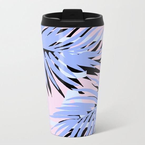 Cali blue blue Metal Travel Mug