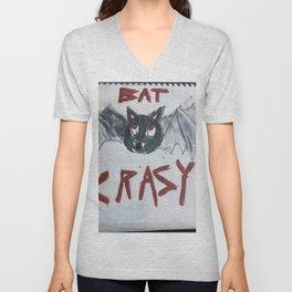 Batty the bat Unisex V-Neck
