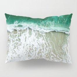 miami beach aerial view Pillow Sham