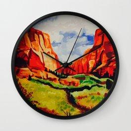 Sedona, Arizona Wall Clock